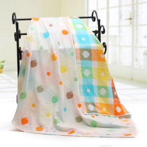 Muslin New Grog Design Baby Blanket, Baby Towel for 3 Layers pictures & photos