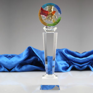 Newest Popular New Design Crystal Fish Trophy pictures & photos