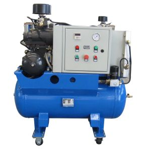 All in One Compressor with Refrigerated Dryer&Air Receiver (SCR15C) pictures & photos