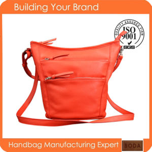 Latest Design Factory Wholesale PU Leather Handbag (BDM076) pictures & photos