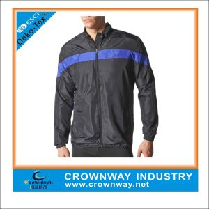 Full Zipper Windproof Breathable Sports Running Jacket for Men pictures & photos