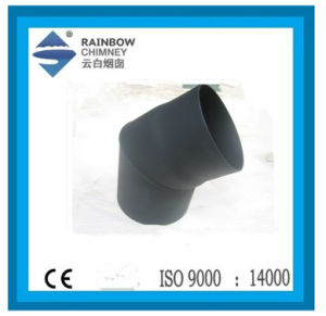 Carbon Steel 45 Degree Elbow for Chimney Stove pictures & photos