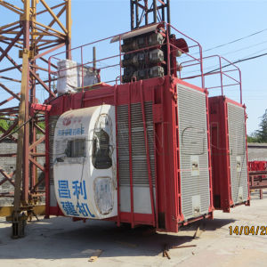 Mosters Used Construction Elevator Sc200/200, 2t Construction Lifter pictures & photos