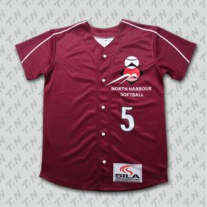 Custom Baseball Jerseys/Uniform/ Wholesale Satin Baseball Jackets pictures & photos