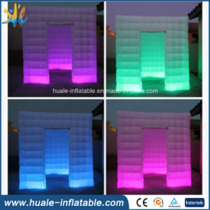 2016cheap LED Lighting Inflatable Booth Tent, Booth Inflatable