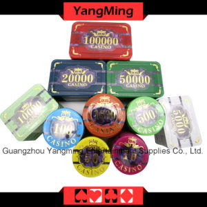 760PCS Plastic Poker Chips Set / Acrylic Casino Chips Set for Casino 5 - 8 Players (FM-FOCP003) pictures & photos