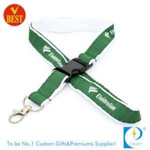 Wholesale Custom Flat Polyester & Stain Screen Printed Lanyard pictures & photos