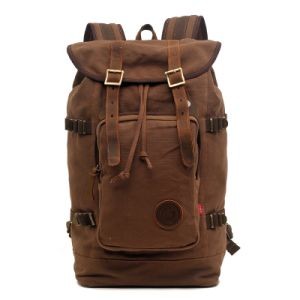 High Quality Washed Canvas Outdoor Travel Backpack (RS-H8166) pictures & photos