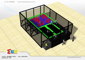 Mini Trampoline Park with Foam Pit pictures & photos