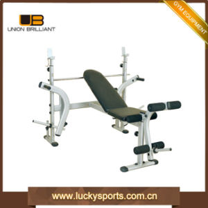 Multi Function Gym Equipment Folding Weight Lifting Adjustable Bench pictures & photos