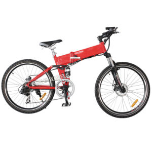 "26"" Lithium Battery Mountain Electric Bike with Disk Brake (TDE-035B) pictures & photos"