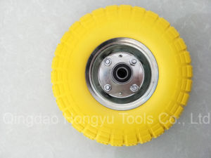 Factory High Quality PU Foam Wheel pictures & photos