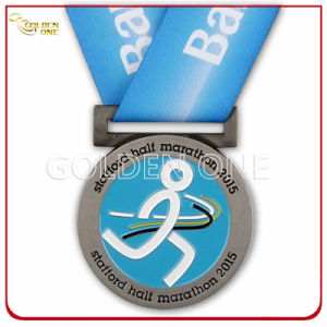 Superior Quality Soft Enamel Promotion Event Metal Silver Medal pictures & photos