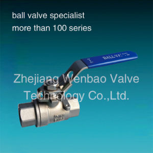 Pn63 2PC Stainless Steel Threaded Ball Valve (DIN) pictures & photos