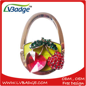 New Design Metal Bag Hook with Flower Shape pictures & photos