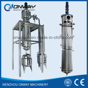 Tfe High Efficient Energy Saving Factory Price Wiped Rotary Vacuum Used Engine Oil Short Path Distillation pictures & photos