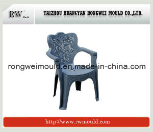 Plastic European Style Arm Chair Mould with Fine Finishing