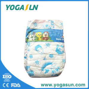 Cute Baby Diaper with Magic Tape