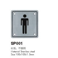 Stainless Steel Sign Plate, Indicator Plate, Sign Plate for Toilet pictures & photos