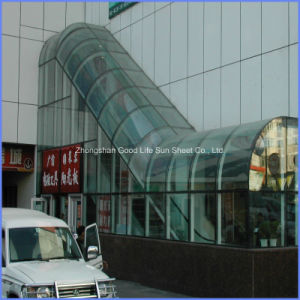 Lexan 4mm Polycarbonate Solid Roofing Sheet pictures & photos