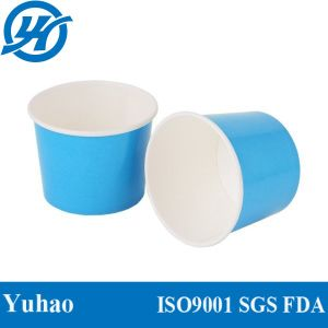 Double Colour Paper Cups for Ice Cream Loading pictures & photos