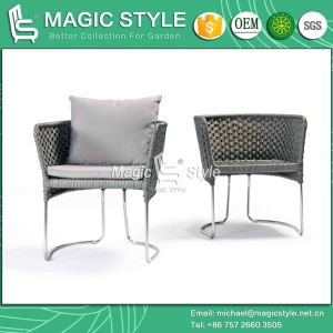 Iris Dining Chair Stainless Steel Chair Dining Chair Garden Furniture (MAGIC STYLE) Patio Chair pictures & photos