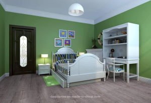 Wood Pattern PVC Vinyl Flooring for Living Room pictures & photos