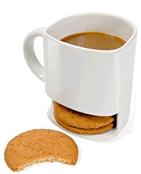 Ceramic Mug with Handle for Coffee and Cookie pictures & photos