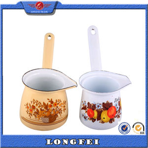 Beautiful Decoration Enamel Colorful Ceramic Coffee Set Gifts pictures & photos