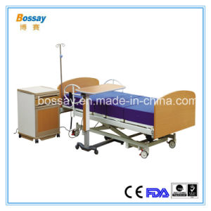250mm Low Electric Homecare Bed Medical Nursing Bed pictures & photos