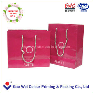 2016 Welcomed Cosmetic Gift Paper Bag pictures & photos