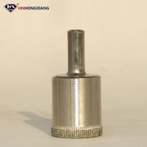 High Quality 1.5mm-- 150mm Electroplate Drill Bits for Glass pictures & photos