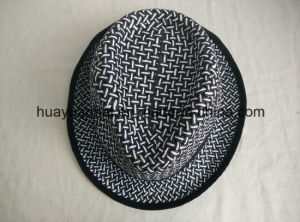 100% Twisted Paper Leisurely Style Fedora Hats pictures & photos