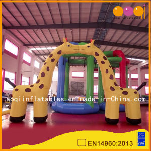 Cute Inflatable Kissing Giraffe Arch Inflatable Enterance (AQ5328) pictures & photos