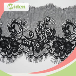 Free Sample Avaliable Lovely African Black Eyelash Lace pictures & photos