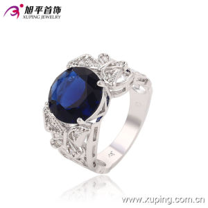 Fashion Luxury CZ Crysral Rhodium Jewelry Ring with Butterfly -Plated 13643 pictures & photos