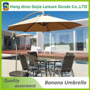 3m Deluxe Outdoor Hanging Offset Banana Type Patio Umbrella