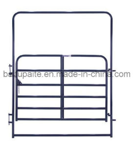 Economy Powder Coating E-Coated Cattle Corral Panel Gate Panel pictures & photos
