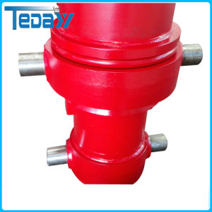 Single-Acting Hydraulic Cylinder for Dump Truck pictures & photos