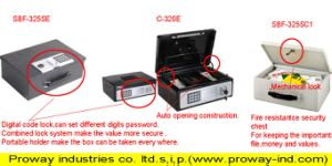 Cash Box with Combination Lock pictures & photos