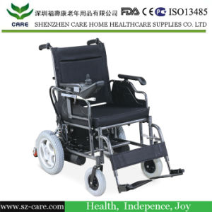 Foldable Durable Powered Small Electric Wheelchair pictures & photos