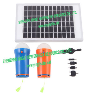 Portable Solar Power Lamp for Home pictures & photos