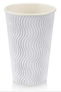 22oz Disposable Ripple Corrugated Paper Cups