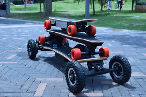 3300W off Road Strongest Longboard Four Wheels Electric Skateboards pictures & photos