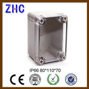 110*80*45 Hot Sale IP66 ABS/PC Waterproof Circuit Cable Connector Box pictures & photos