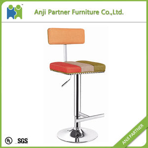 French Style Pub Use with Different Color Patchwork Bar Chair Stool (Ewiniar) pictures & photos