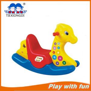 New Design Children Plastic Rocking Horse Toy pictures & photos