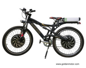 Dual Drive Mountain Electric Bike with Magic Pie 5 pictures & photos