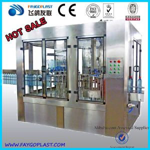 Small Pneumatic Bottle Mineral Water Filling Machine Price pictures & photos