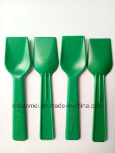 Green PS Shovel Spoon, Disposable Ice Cream Spoon pictures & photos